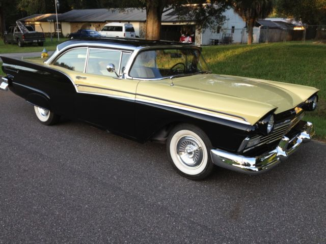 1957 ford fairlane 500 2 door hardtop 292 v8 4 speed sunny for 1957 ford 2 door