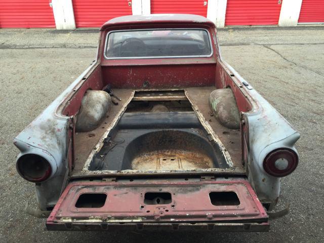 1957 Ford Ranchero Hot Rat Rod Custom Gasser Project 57