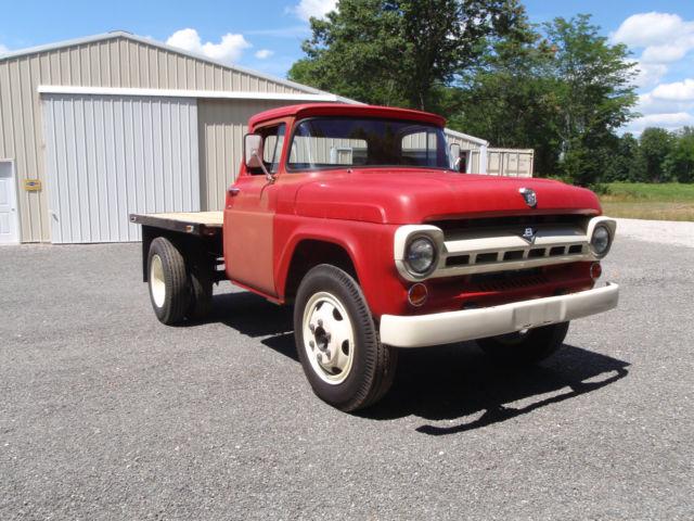 1957 ford restomod f600 truck 68l v10 f100 classic ford