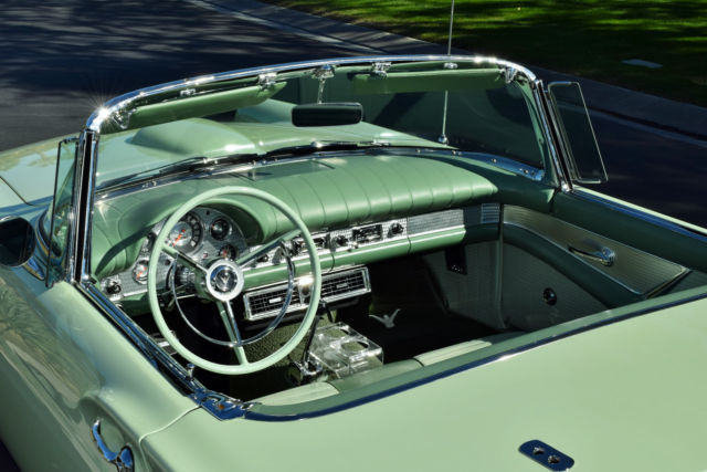 1957 ford thunderbird complete restoration by prestige thunderbird classic ford thunderbird. Black Bedroom Furniture Sets. Home Design Ideas