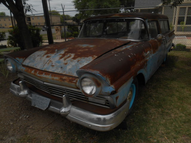 1957 ford two door station wagon ranch wagon classic for 1957 ford 2 door ranch wagon