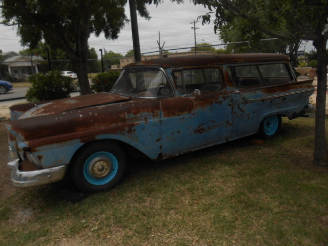 1957 ford two door station wagon ranch wagon classic for 1957 ford 2 door ranch wagon sale