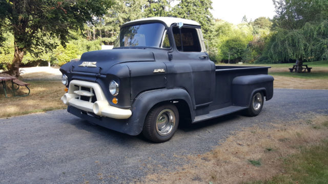 1957 gmc coe chevrolet truck hot rat rod chevy 1956 1955 pick up v8 automatic classic gmc. Black Bedroom Furniture Sets. Home Design Ideas