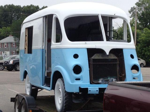 1957 international metro van antique popcorn food truck retro vintage restored classic. Black Bedroom Furniture Sets. Home Design Ideas