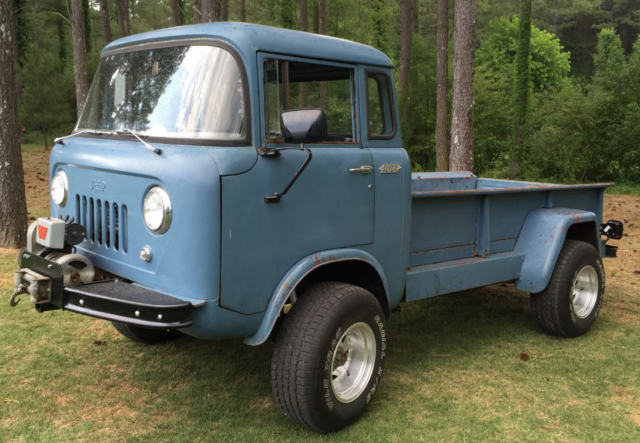 1957 Jeep Forward Control FC 170 4WD Pickup - Cab Over ...