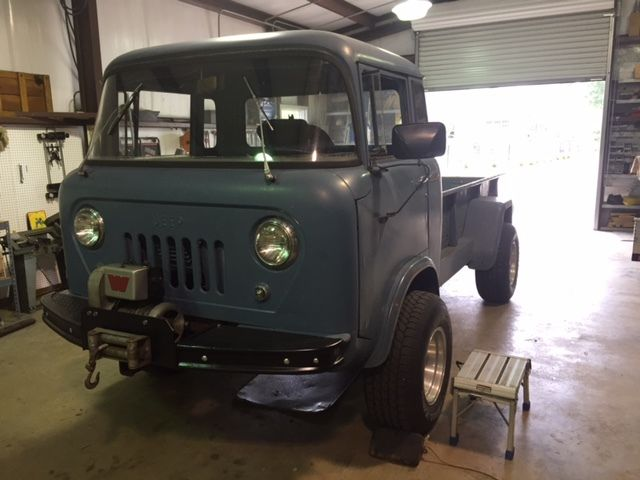 Check If Car Is Insured >> 1957 Jeep Forward Control FC 170 4WD Pickup - Cab Over Engine COE - Classic Jeep Other 1957 for sale