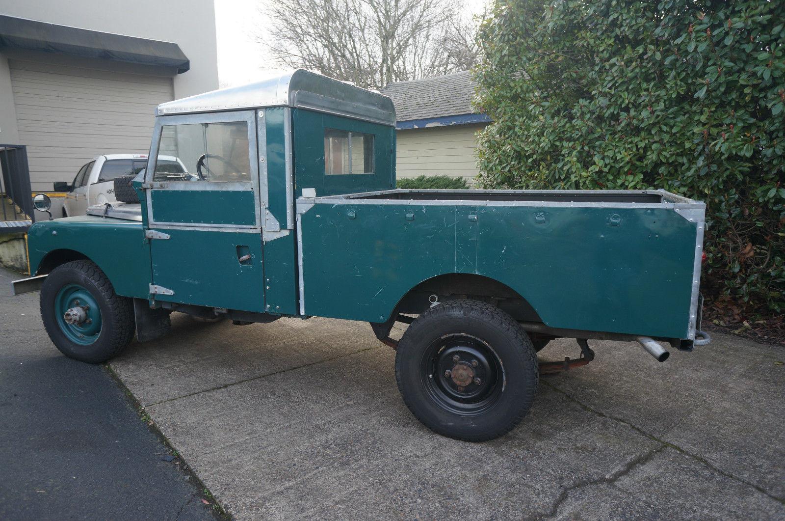 1957 land rover land rover series i diesel 109 pickup. Black Bedroom Furniture Sets. Home Design Ideas