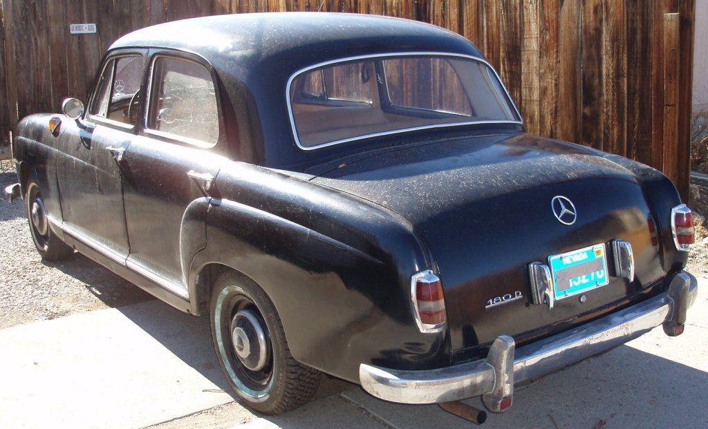 1957 mercedes 180d ponton classic mercedes benz other for Mercedes benz 180d for sale