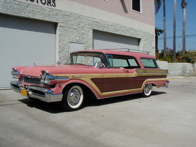 1957 Mercury Colony Park Station Wagon 1958 1959 1960