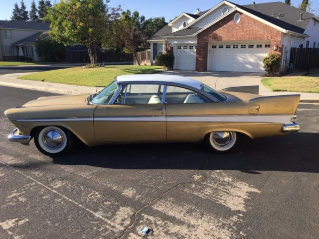 Cars Of Clovis >> 1957 Plymouth Belvedere 2dr Hardtop Running Project Car CA ...
