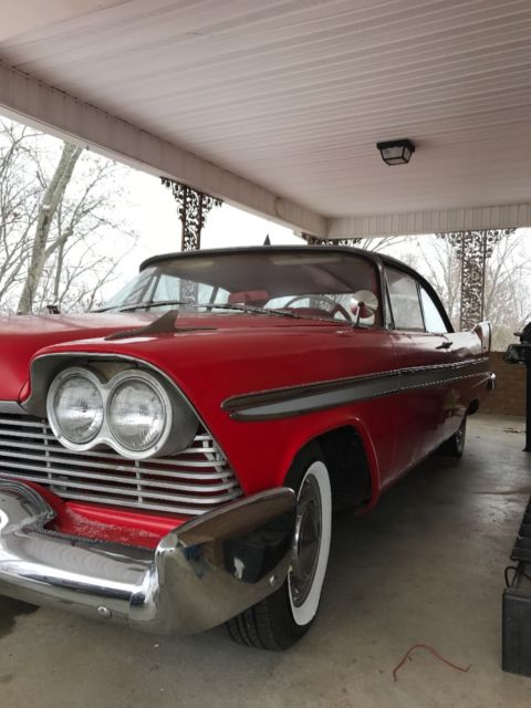 """Transmission Replacement Cost >> 1957 plymouth fury 2 Door Hardtop """"christine"""" - Classic ..."""
