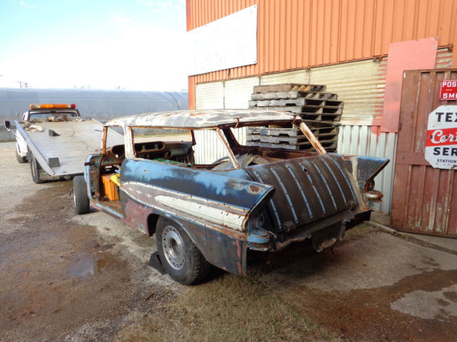 1957 Pontiac Safari Wagon Like 1957 Nomad Project Or