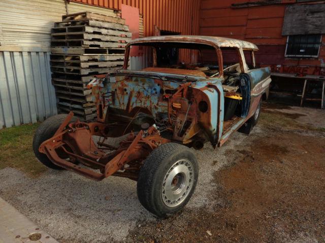 1957 Pontiac Safari Wagon Like 1957 Nomad Project Or