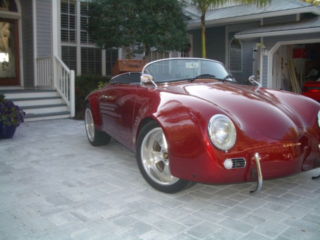 1957 Porsche 356 Wide Body Speedster Replica By Vintage