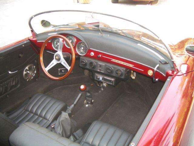 1957 Porsche 356 Wide Body Speedster Replica By Vintage Speedsters Classic Porsche 356 1957