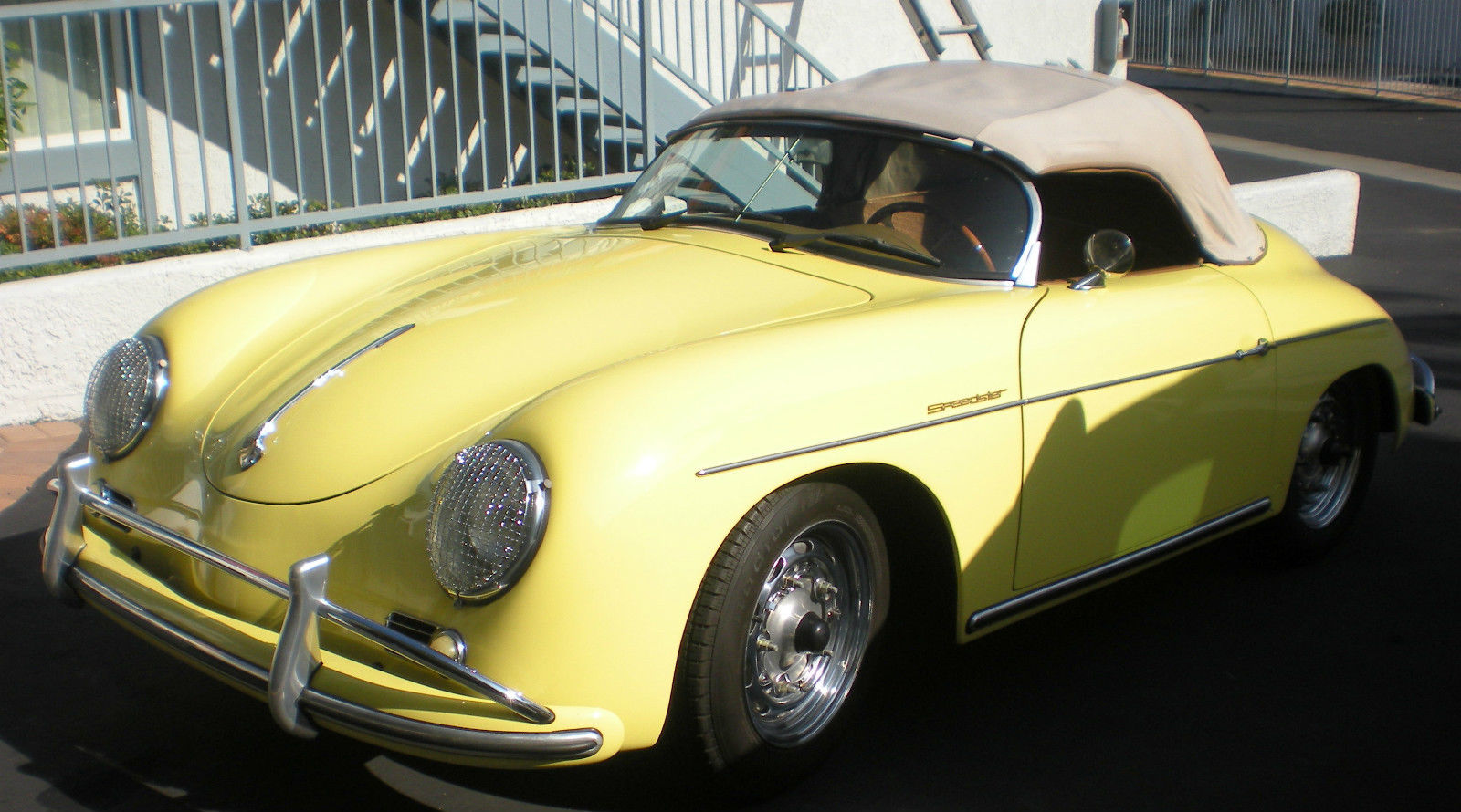 1957 Porsche Speedster Fuel Injected New Replica Custom