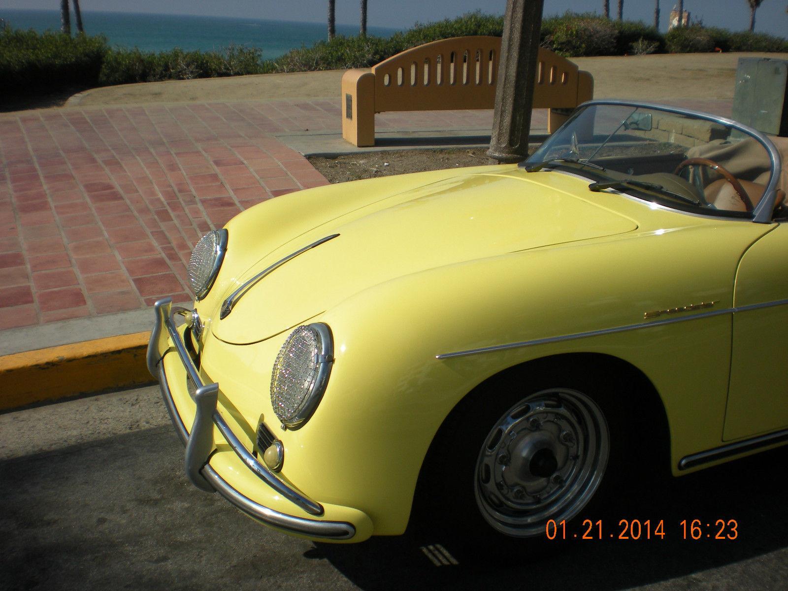 1957 Porsche Speedster Fuel Injected New Replica Custom
