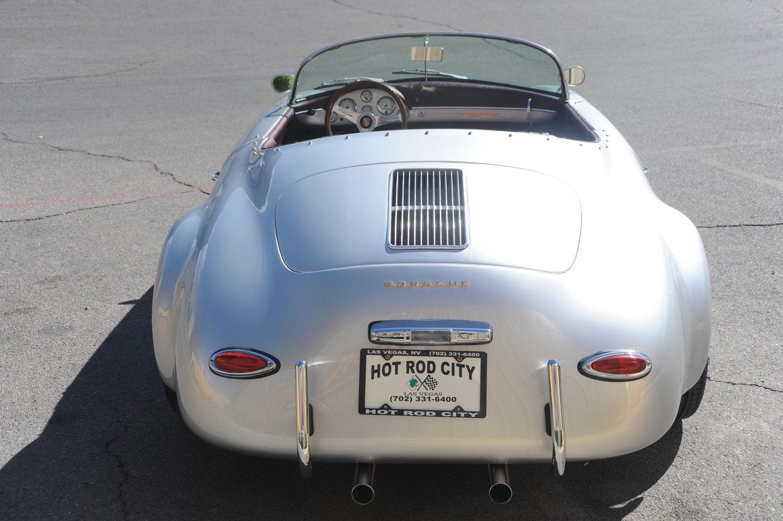 1957 Porsche Speedster Outlaw Replica New Paint