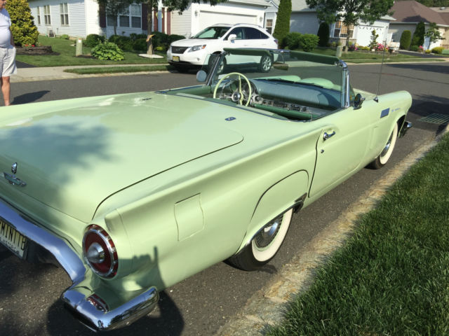 1957 Willow Green Ford Thunderbird Convertible Classic