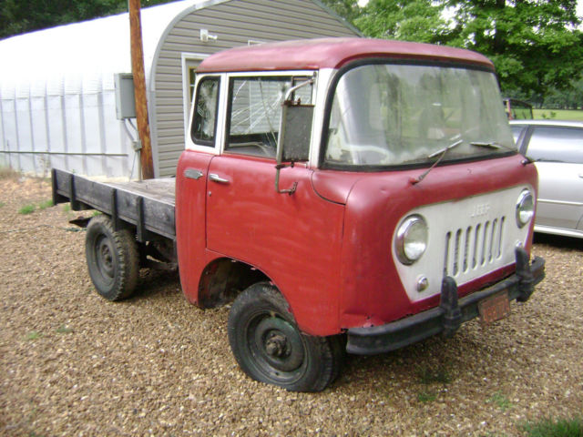 1957 Willys Jeep FC 150 4x4 FC150 Kaiser with PTO ...