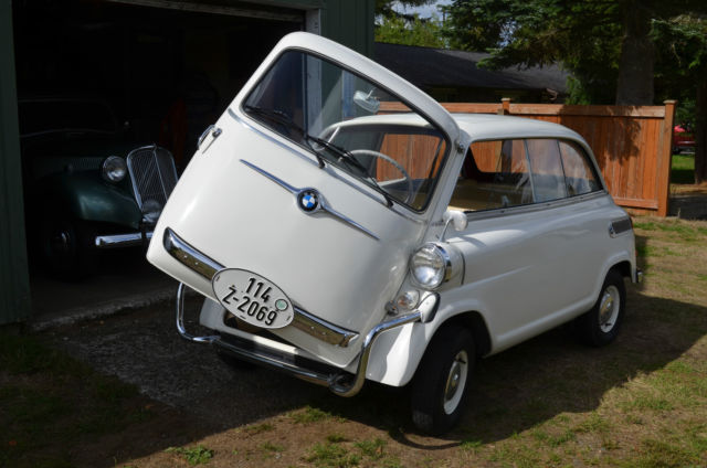 1958 bmw 600 isetta limousine micro car microcar classic. Black Bedroom Furniture Sets. Home Design Ideas