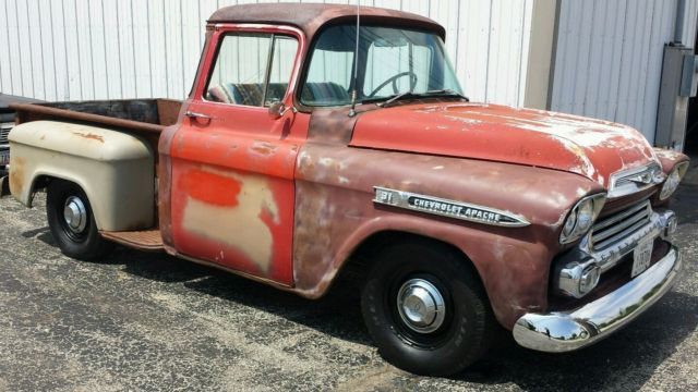 1958 Chevy Apache For Sale >> 1958 Chevrolet Apache 31 Series Pick Up Truck All Original
