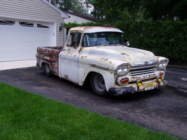 1958 Chevrolet Apache Rat Rod Truck 454 Pickup Chevy Hot