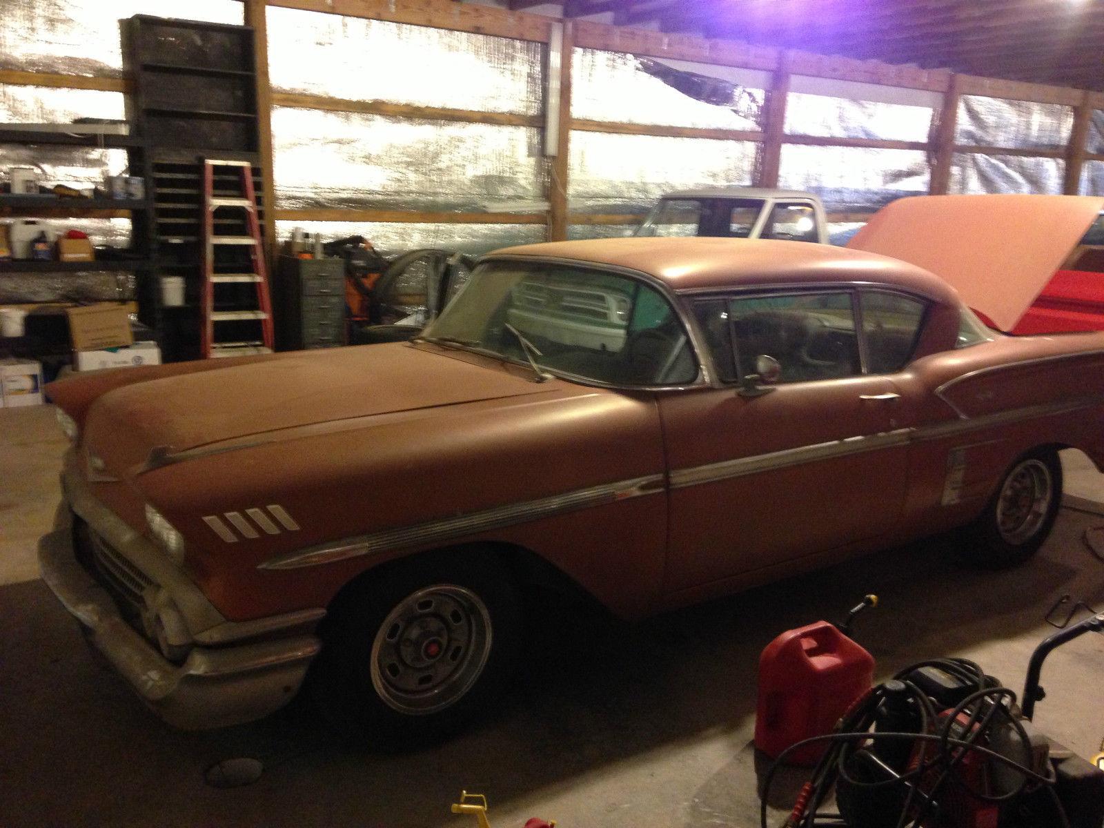 1958 Chevrolet Impala Barn Find New Rebuilt 348 And Zero