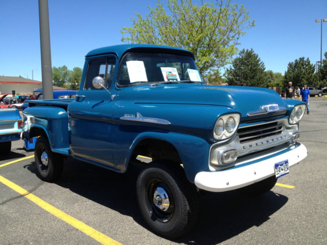 1958 Chevrolet Pickup With Factory Installed NAPCO 4x4 System