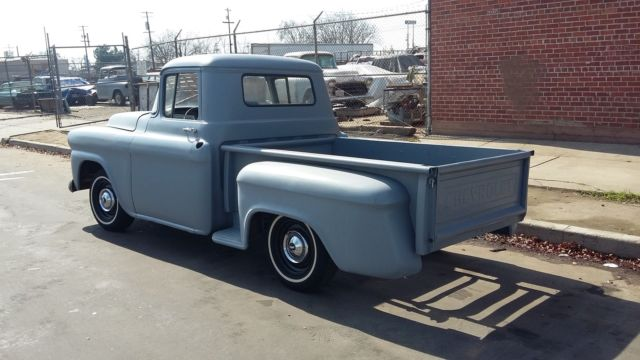 1958 chevrolet truck 3100 shortbed patina 1955 1956 1957 1959 project classic chevrolet other. Black Bedroom Furniture Sets. Home Design Ideas