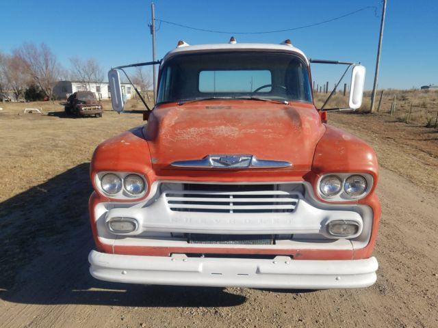 1958 CHEVROLET VIKING LCF LOW CAB FORWARD 58 59 SHOP FARM ...