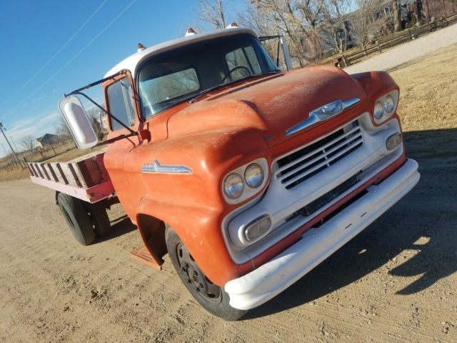 1958 Chevrolet Viking Lcf Low Cab Forward 58 59 Shop Farm