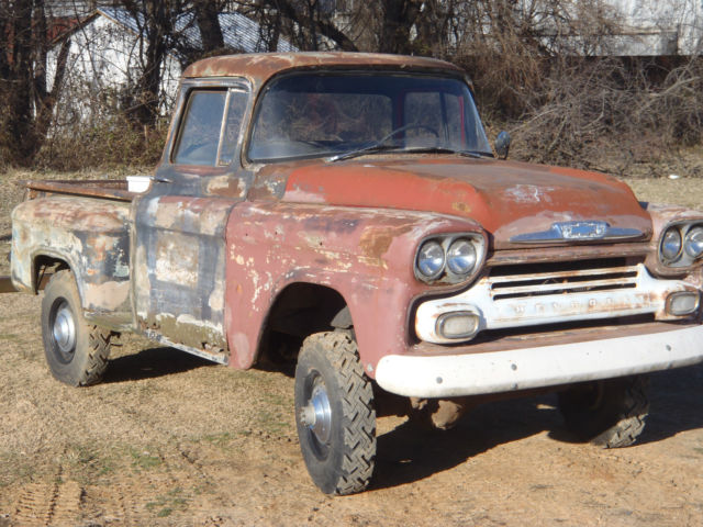 1958 chevy apache napco 4x4 classic chevrolet other pickups 1958 for sale. Black Bedroom Furniture Sets. Home Design Ideas