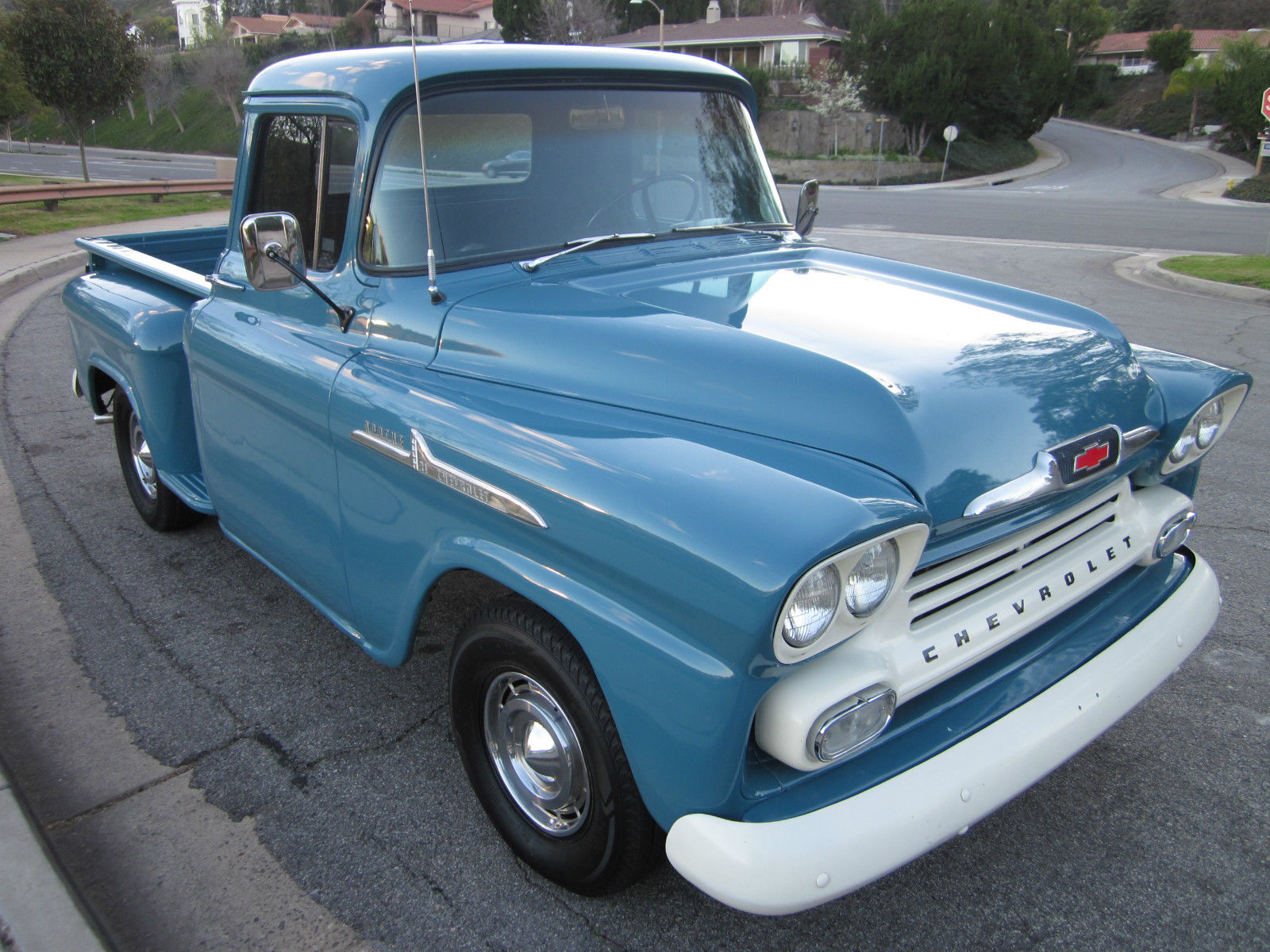 1958 Chevy Apache Shortbed Beautiful Original Truck W