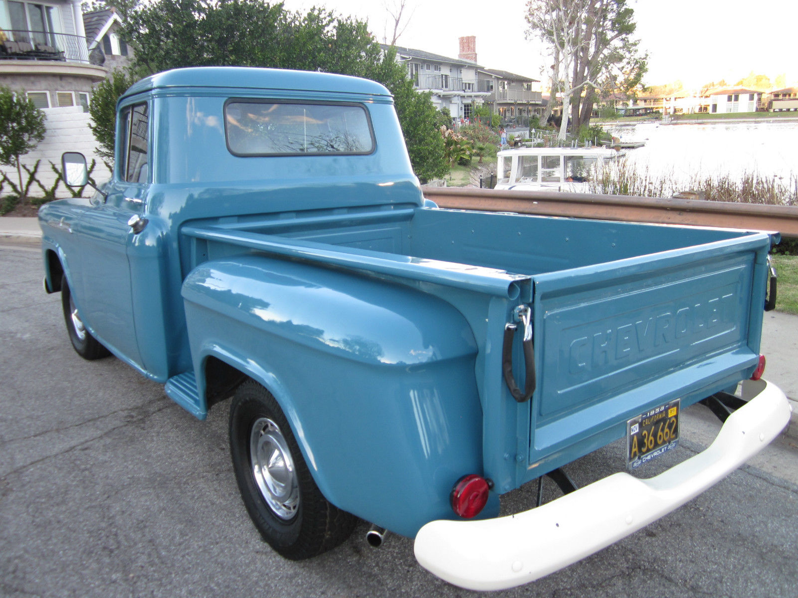 Thousand Oaks Chevy >> 1958 Chevy Apache Shortbed BEAUTIFUL ORIGINAL TRUCK w ...
