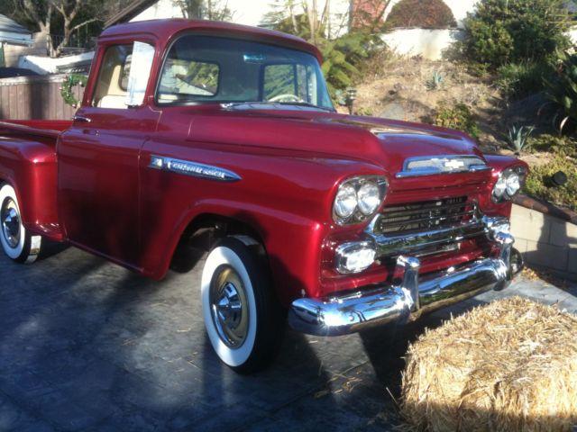 1958 Chevy Apache Truck Classic Original Restoration
