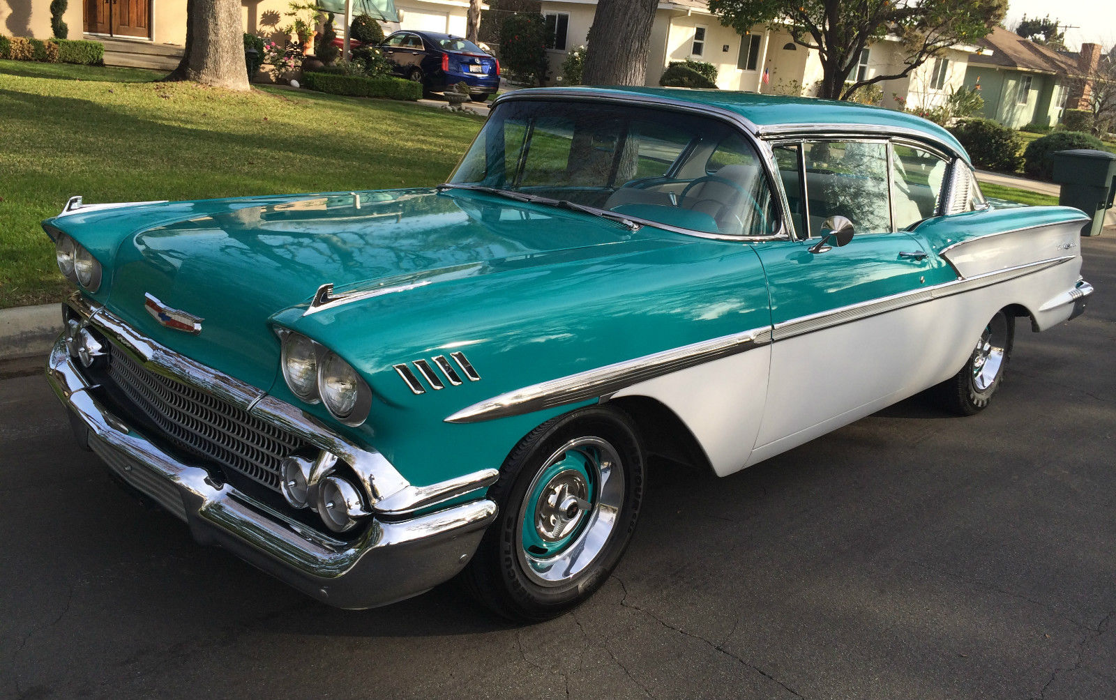 1958 chevy bel air sport coupe 150 210 classic chevrolet. Black Bedroom Furniture Sets. Home Design Ideas