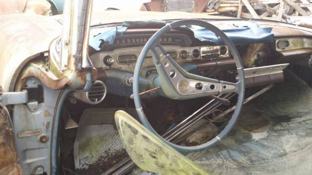 1958 Chevy Impala 348 motor with Air Conditioning hardtop ...
