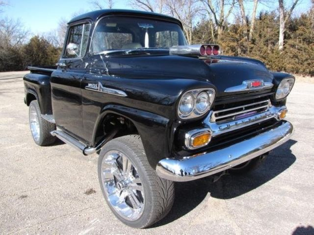 1958 chevy pickup truck 2500 miles 454 supercharged v8. Black Bedroom Furniture Sets. Home Design Ideas