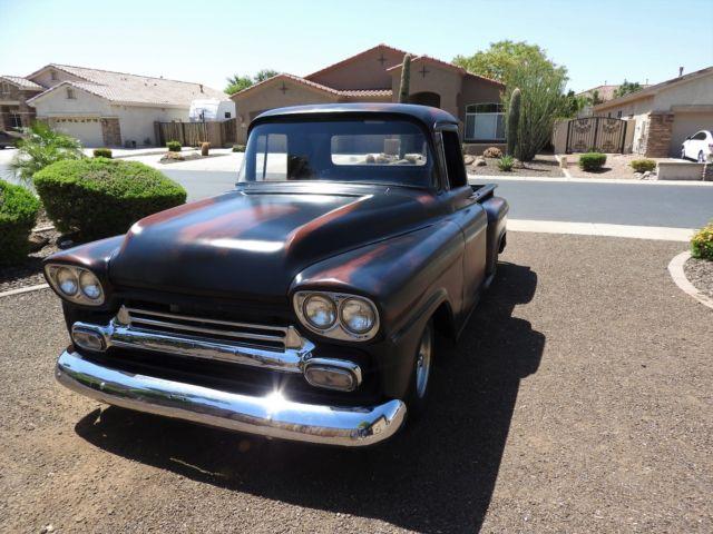 1958 Chevy Truck Patina Shop Truck Vintage Truck Hotrod Ratrod