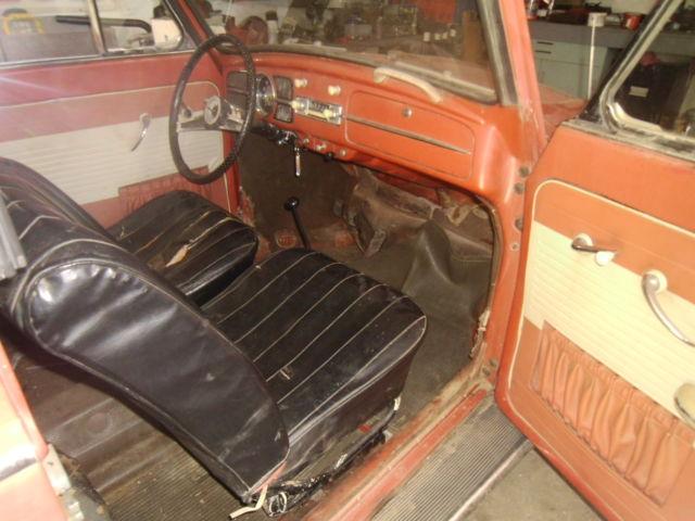 1958 Classic Vw Beetle Convert Restoration Project