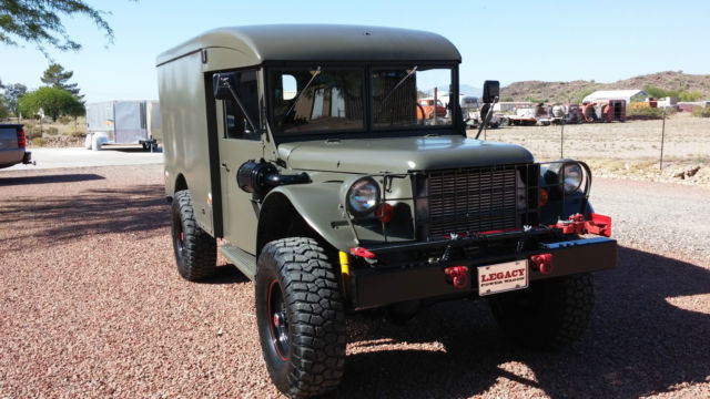1958 Dodge Power Wagon M43 Military Ambulance - Classic ...