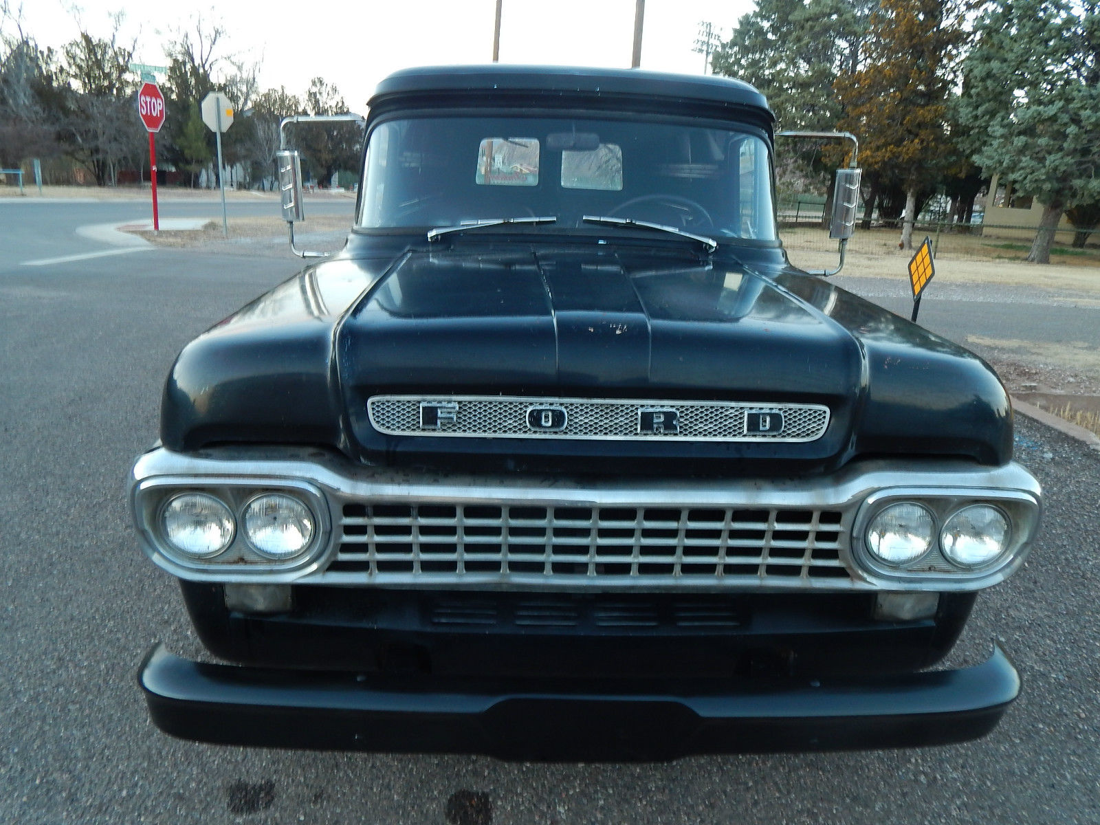 1958 F100 1/2 ton, Ford Panel, Harley Davidson, pick-up, hot-rod, motorcycle - Classic Ford ...