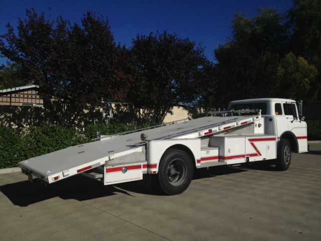 1958 Ford C800, Vintage Cab Over Car Hauler/Ramp Truck COE ...