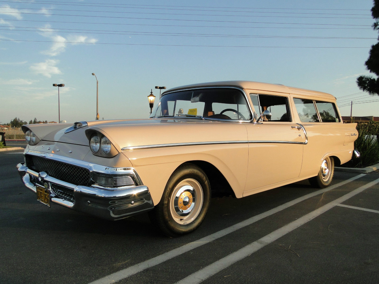 1958 Ford Ranch Wagon Base 3 6l Classic Ford Other 1958