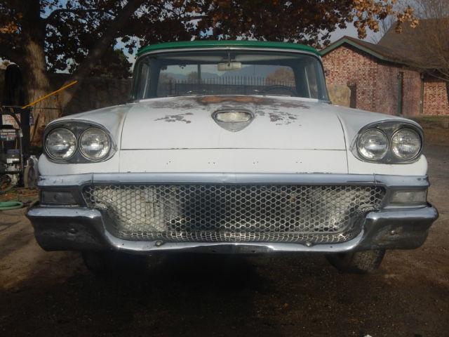 1958 Ford Ranchero 302 Auto Project Car 1957 Fairlane Hot