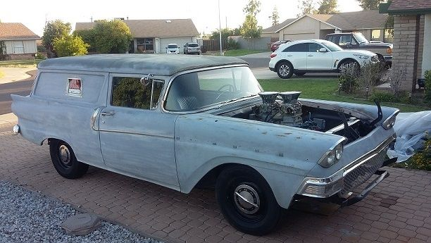 1958 Ford Sedan Delivery Hot Rod Rat Rod 429 58 Classic