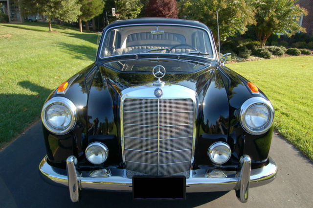 1958 mercedes benz 220s ponton with webasto roof for 1958 mercedes benz 220s for sale