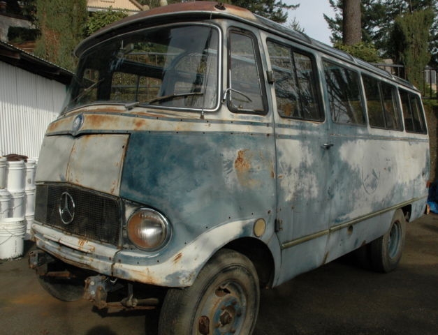 1958 mercedes benz o319b 319 panorama bus ultra rare for Mercedes benz 319 bus for sale