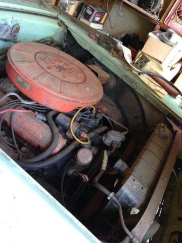 1958 Mercury Montclair 6 3l 383 Engine Push Button Multi